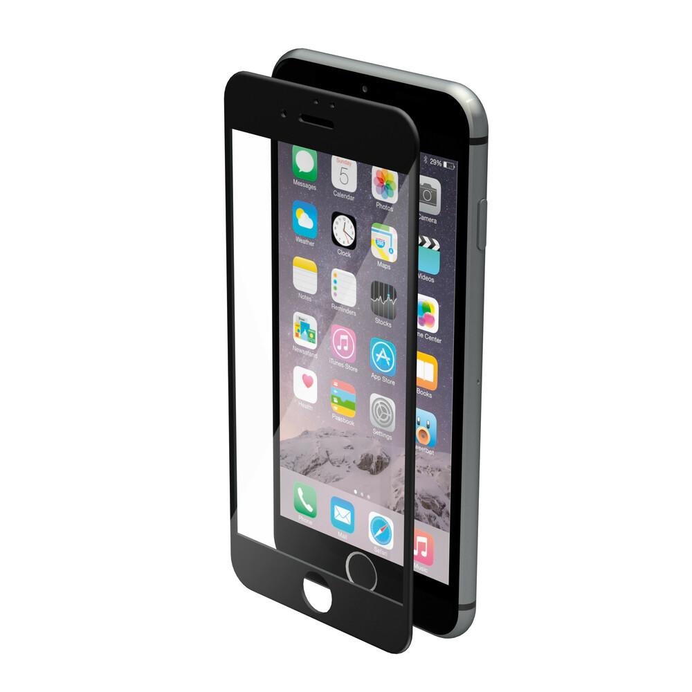 Phantom, vetro temperato protettivo da bordo a bordo - Apple iPhone 7 - Glossy Black