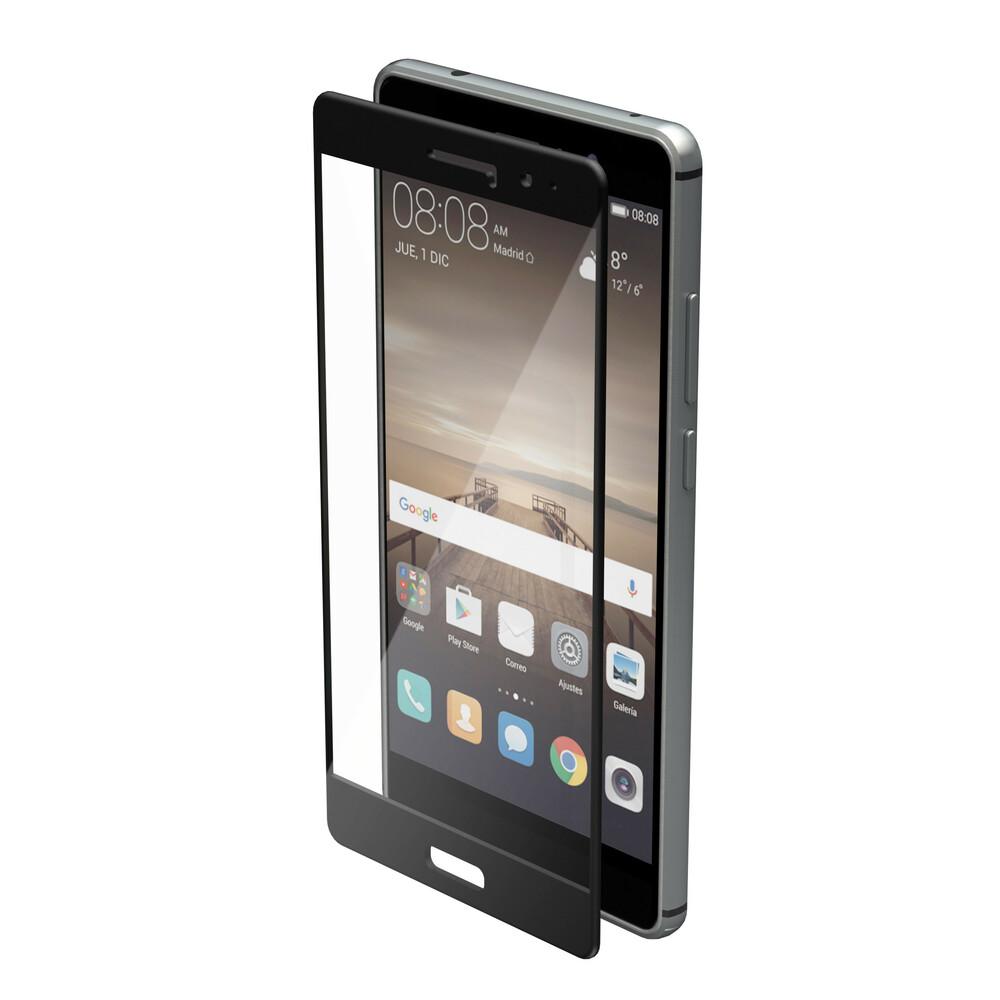Phantom, vetro temperato protettivo da bordo a bordo - Huawei Mate 9 - Glossy Black
