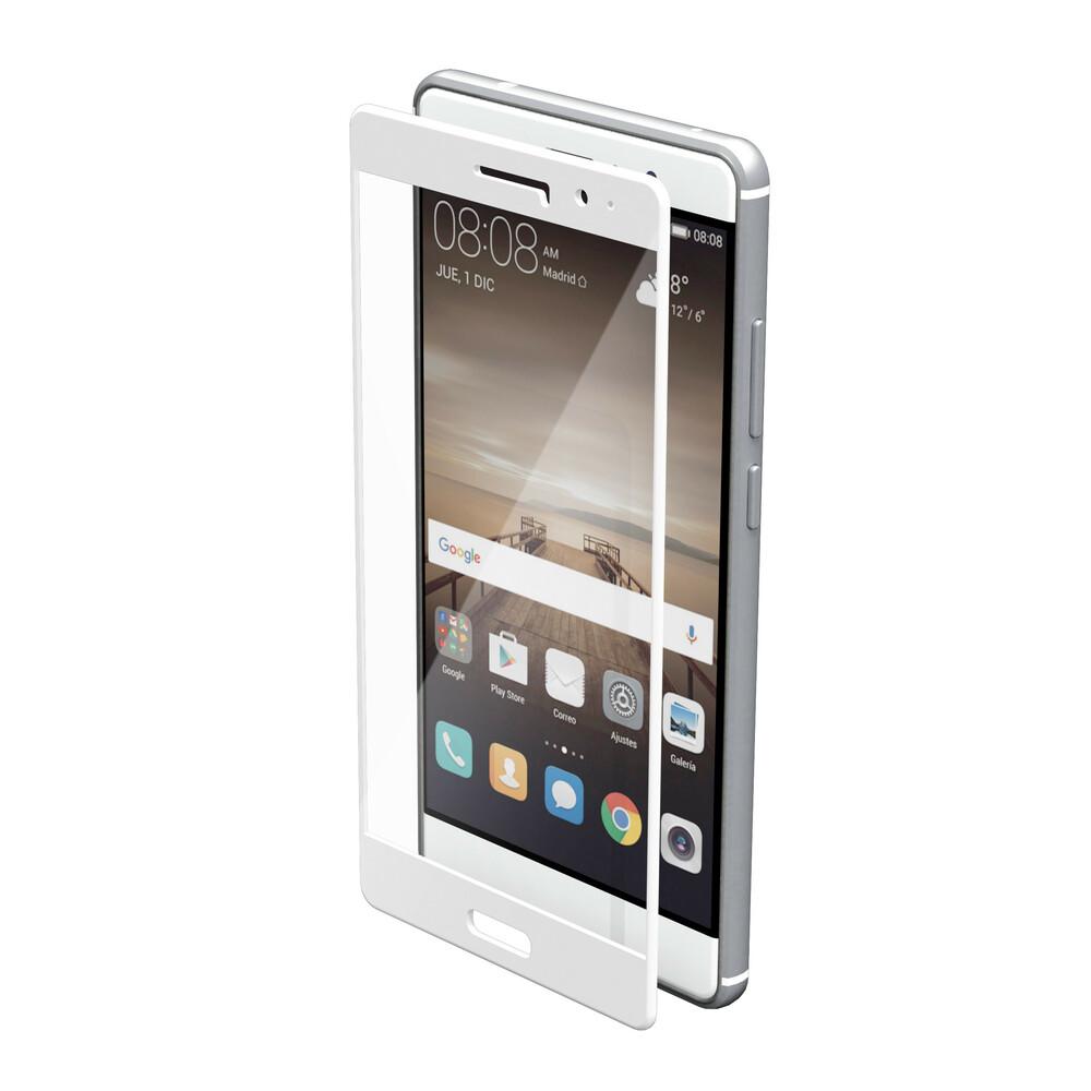 Phantom, vetro temperato protettivo da bordo a bordo - Huawei Mate 9 - Glossy White