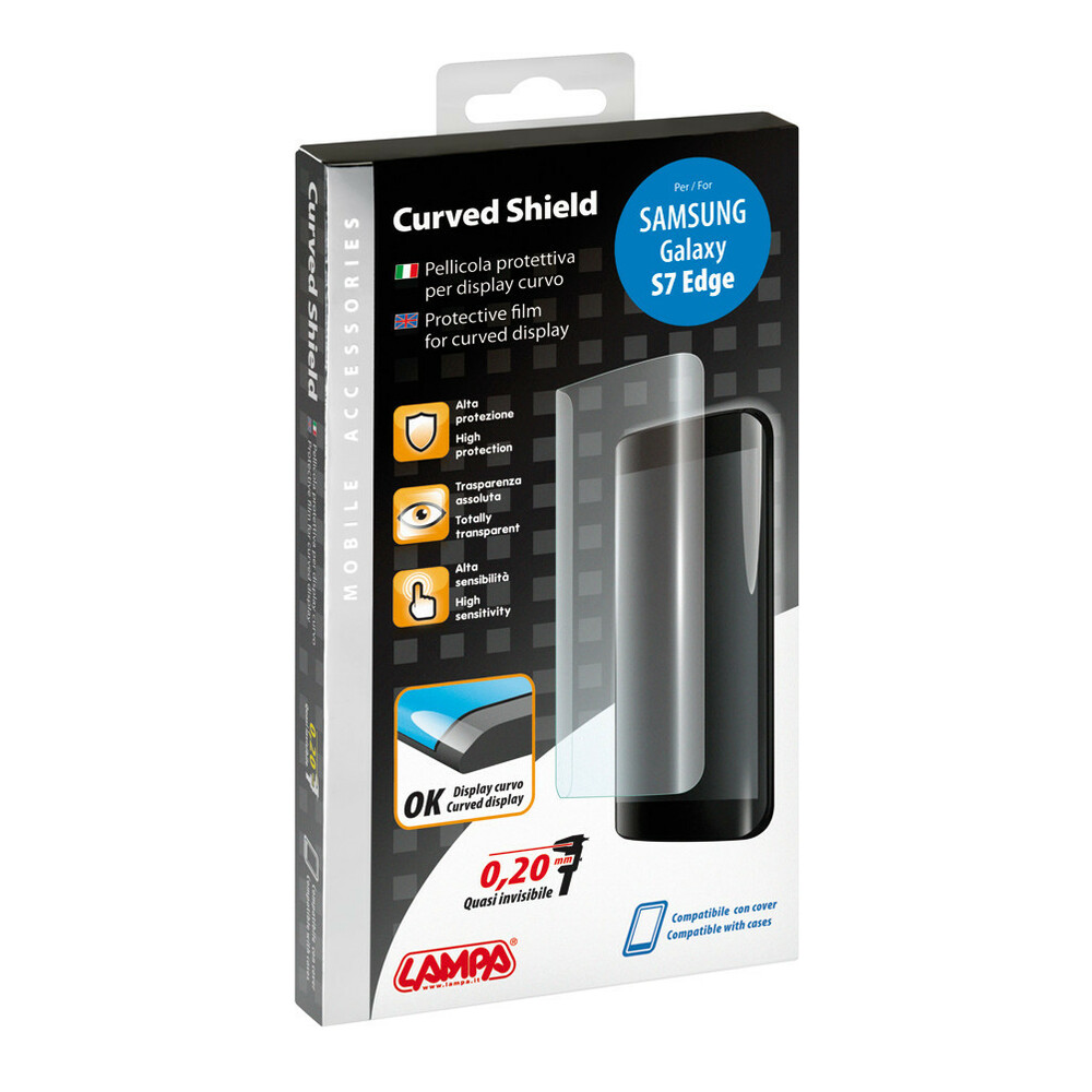 Curved Shield, pellicola protettiva per display curvi - Samsung Galaxy S7 Edge
