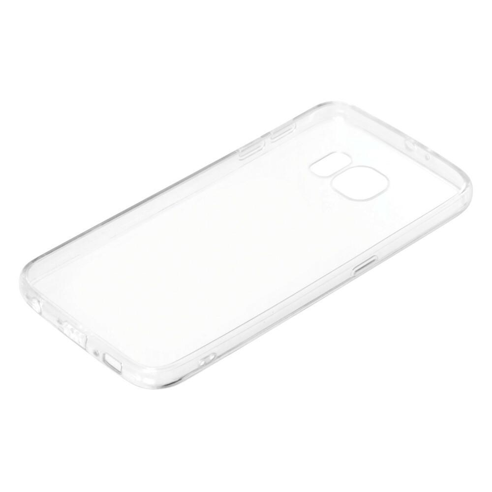 Clear Cover, cover trasparente rigida con cornice in gomma - Samsung Galaxy S6