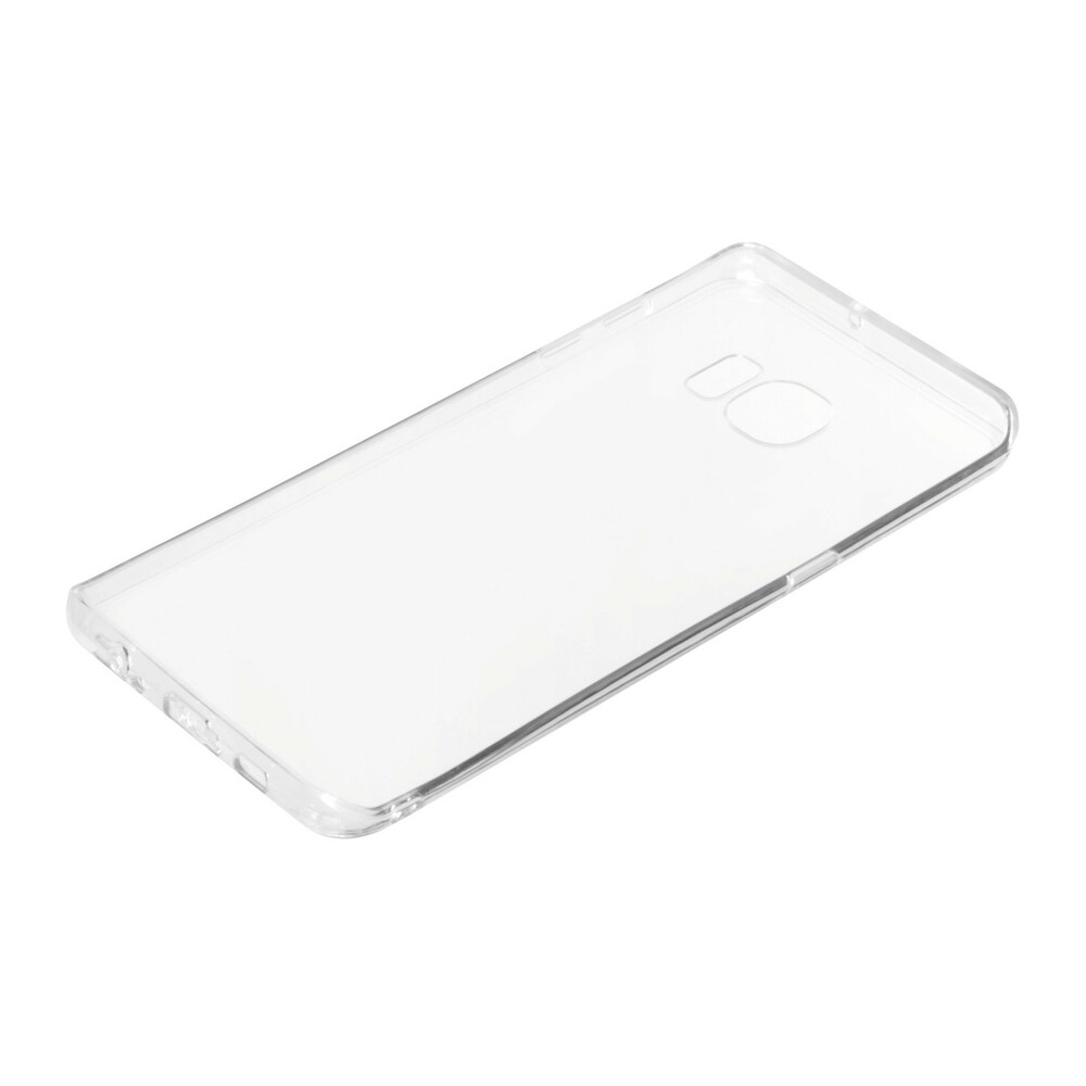 Clear Cover, cover trasparente rigida con cornice in gomma - Samsung Galaxy S6 Edge+