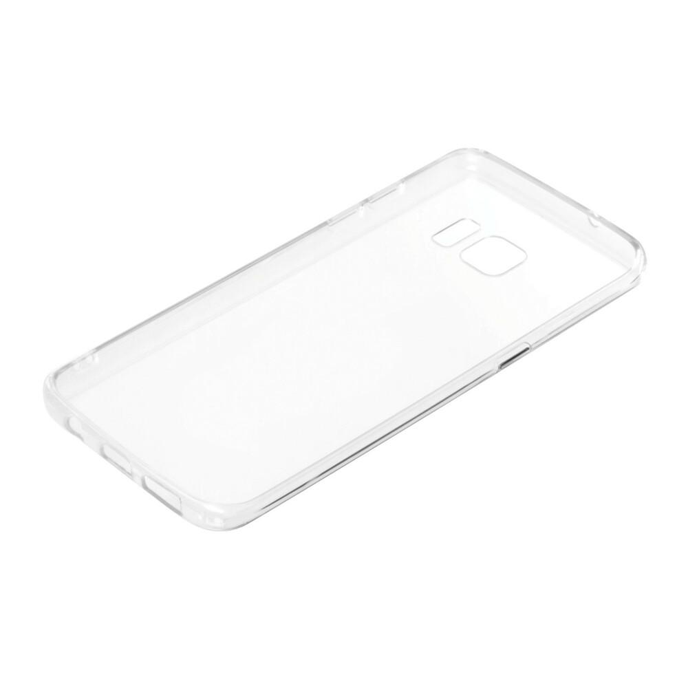 Clear Cover, cover trasparente rigida con cornice in gomma - Samsung Galaxy S7 Edge