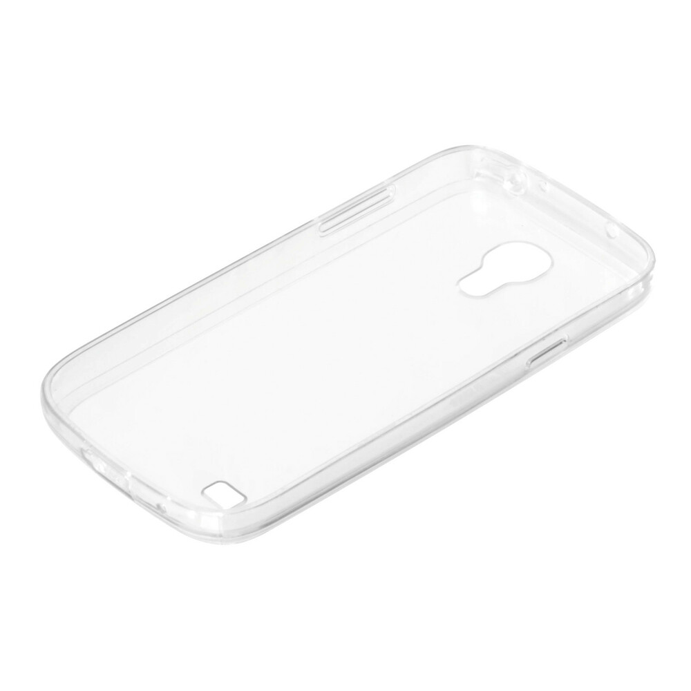 Clear Cover, cover trasparente rigida con cornice in gomma - Samsung Galaxy S4 Mini