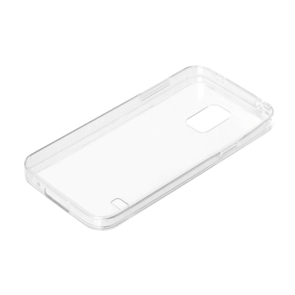 Clear Cover, cover trasparente rigida con cornice in gomma - Samsung Galaxy S5 Mini