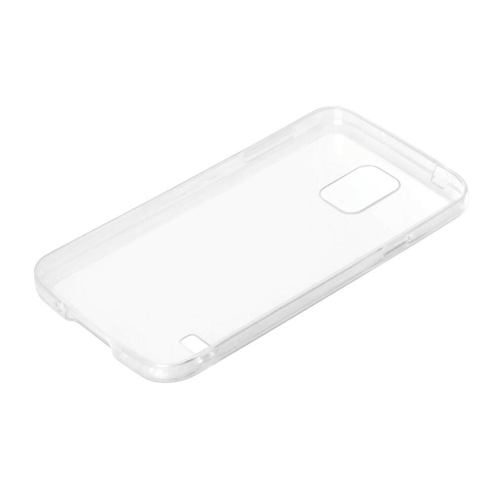 Clear Cover, cover trasparente rigida con cornice in gomma - Samsung Galaxy S5 / S5 Neo