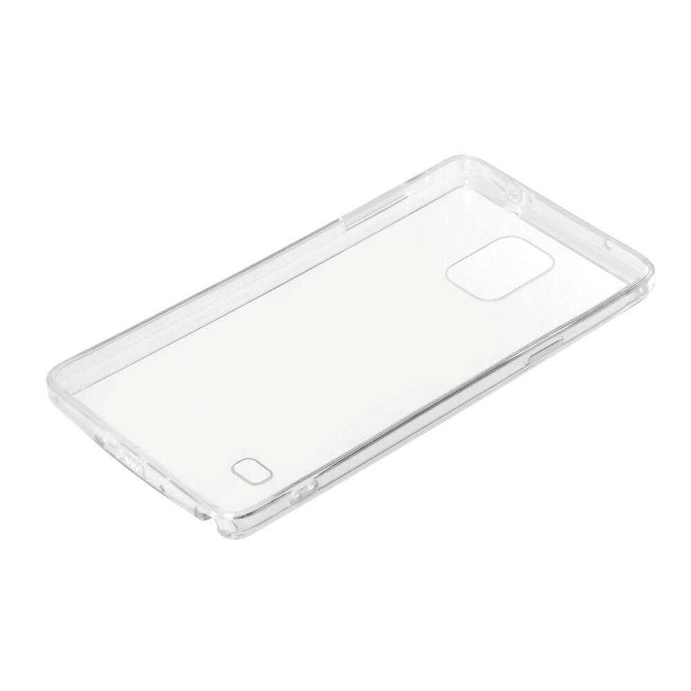 Clear Cover, cover trasparente rigida con cornice in gomma - Samsung Galaxy Note 4