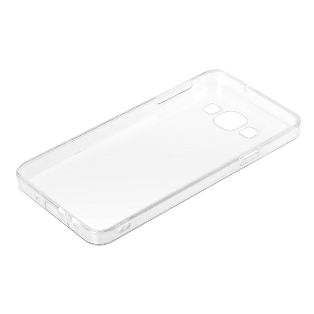 Clear Cover, cover trasparente rigida con cornice in gomma - Samsung Galaxy A3