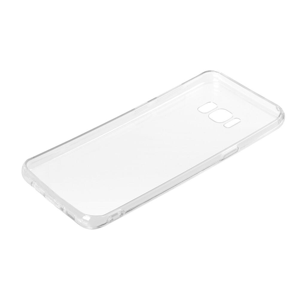 Clear Cover, cover trasparente rigida con cornice in gomma - Samsung Galaxy S8+