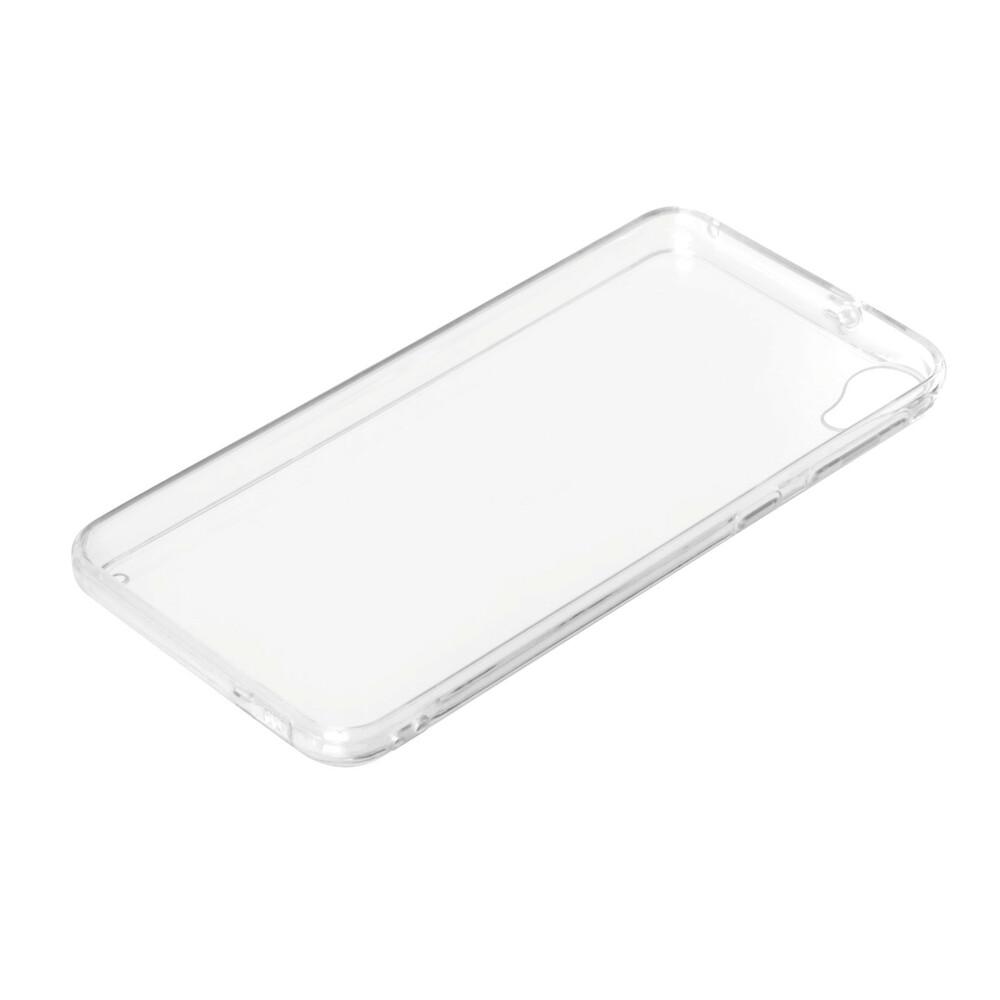 Clear Cover, cover trasparente rigida con cornice in gomma - Htc Desire 820