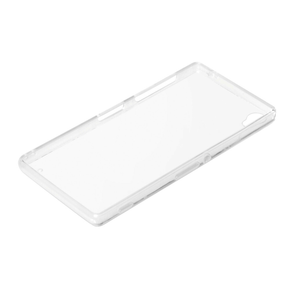 Clear Cover, cover trasparente rigida con cornice in gomma - Sony Xperia Z3