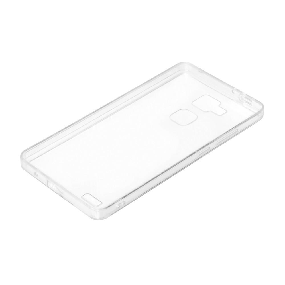 Clear Cover, cover trasparente rigida con cornice in gomma - Huawei Mate 7