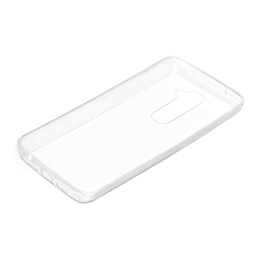 Clear Cover, cover trasparente rigida con cornice in gomma - Lg G2