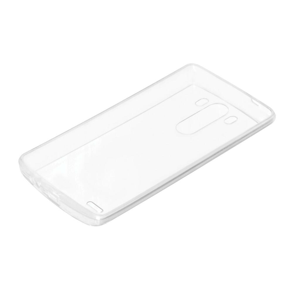 Clear Cover, cover trasparente rigida con cornice in gomma - Lg G3