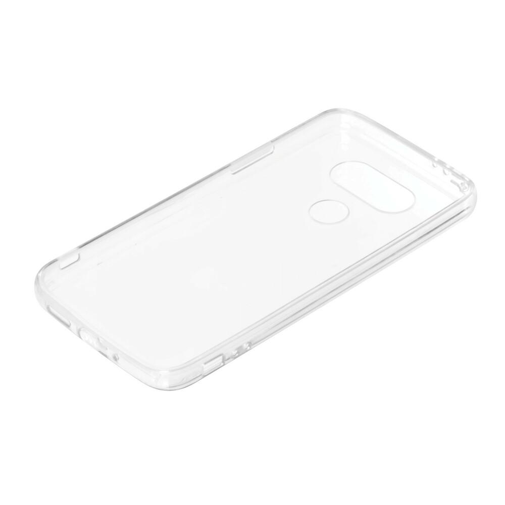 Clear Cover, cover trasparente rigida con cornice in gomma - Lg G5