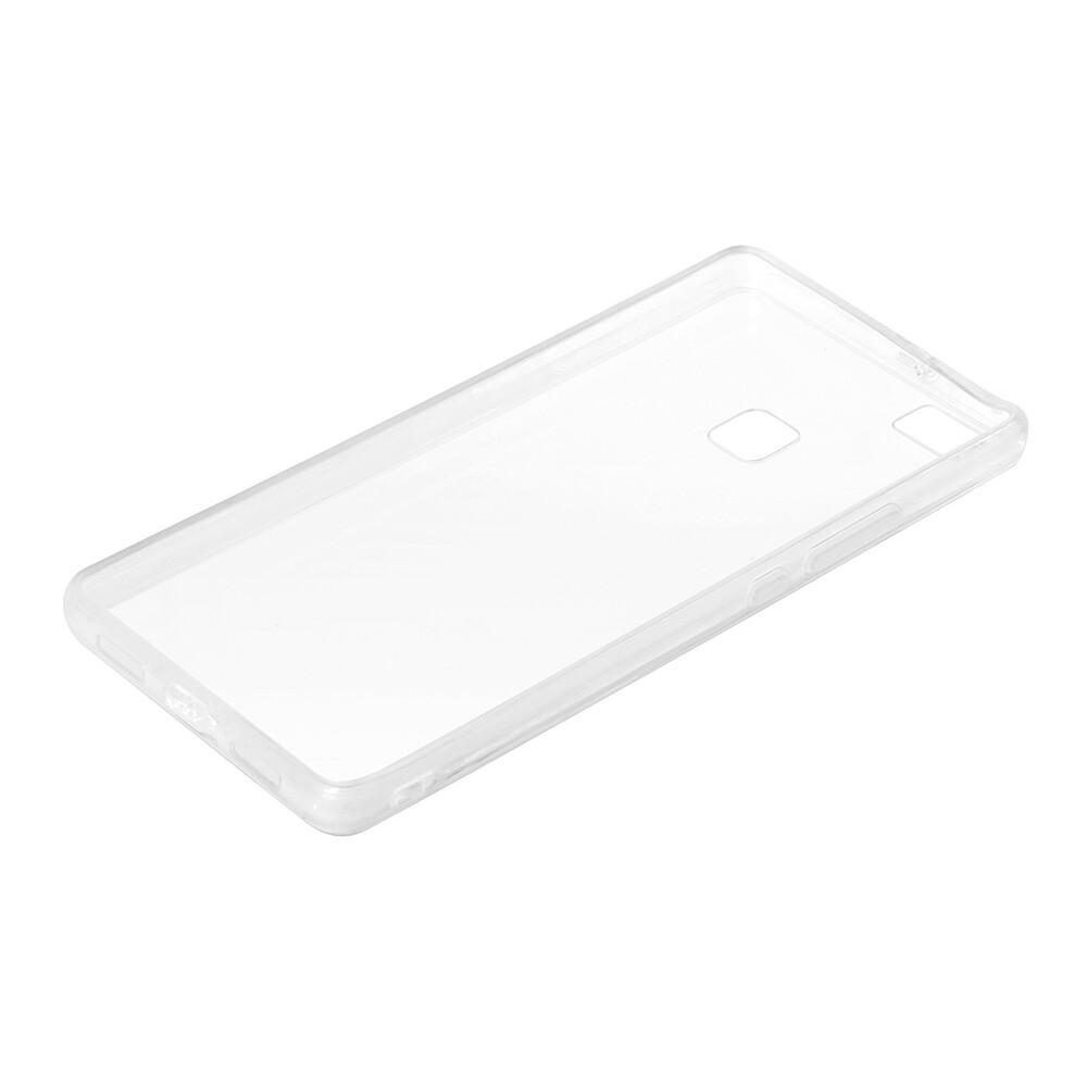 Clear Cover, cover trasparente rigida con cornice in gomma - Huawei P9 Lite