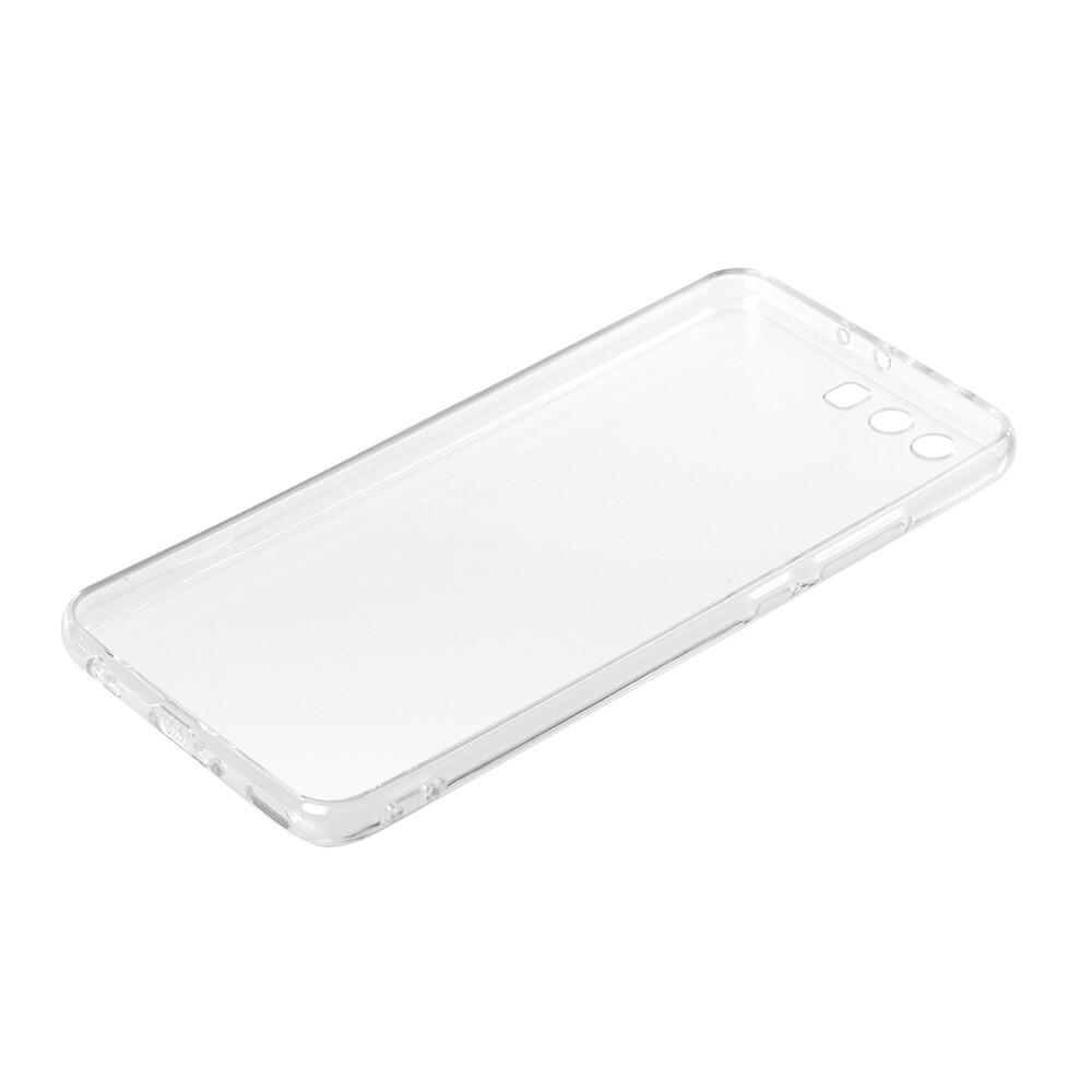 Clear Cover, cover trasparente rigida con cornice in gomma - Huawei P10 Plus