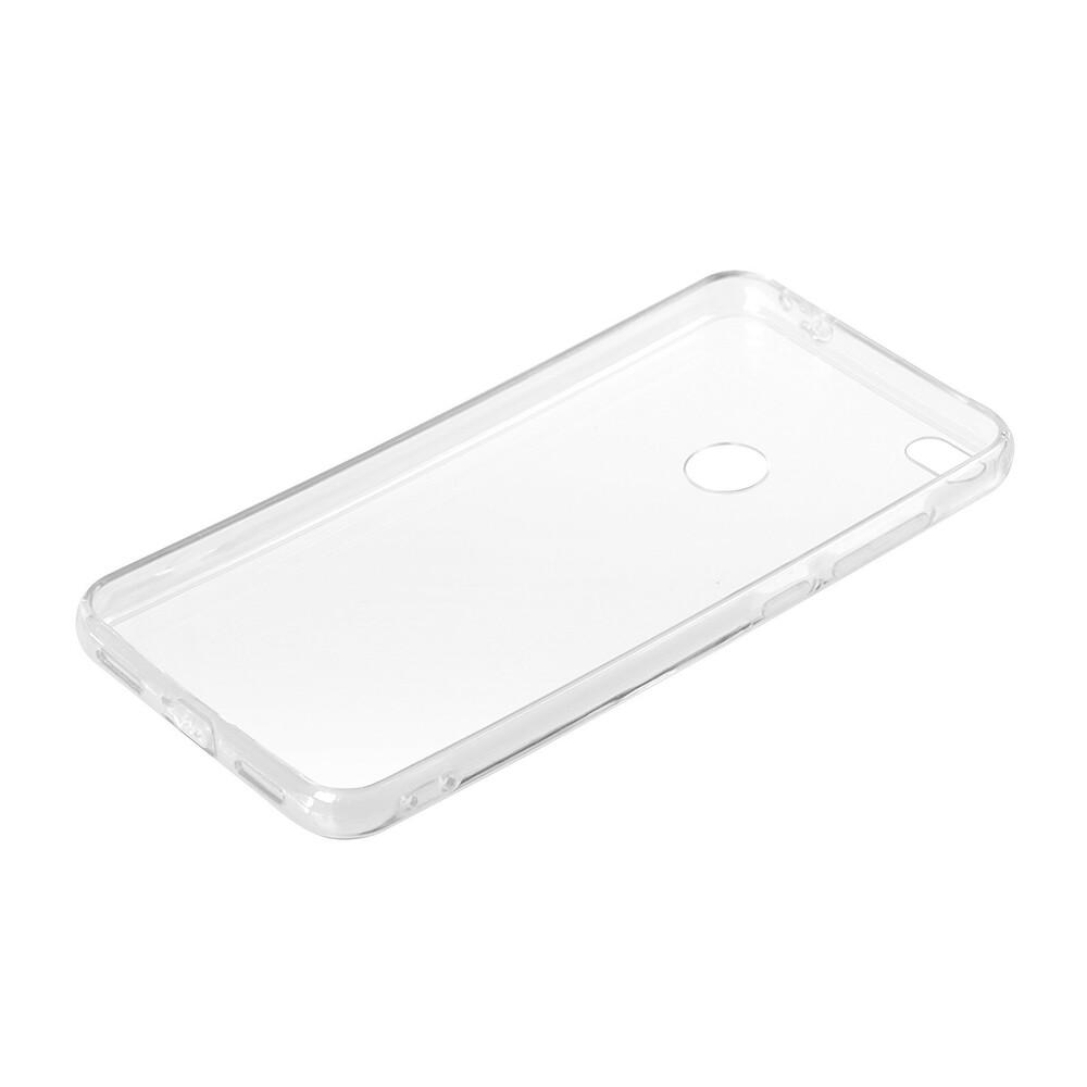 Clear Cover, cover trasparente rigida con cornice in gomma - Huawei P8 Lite 2017
