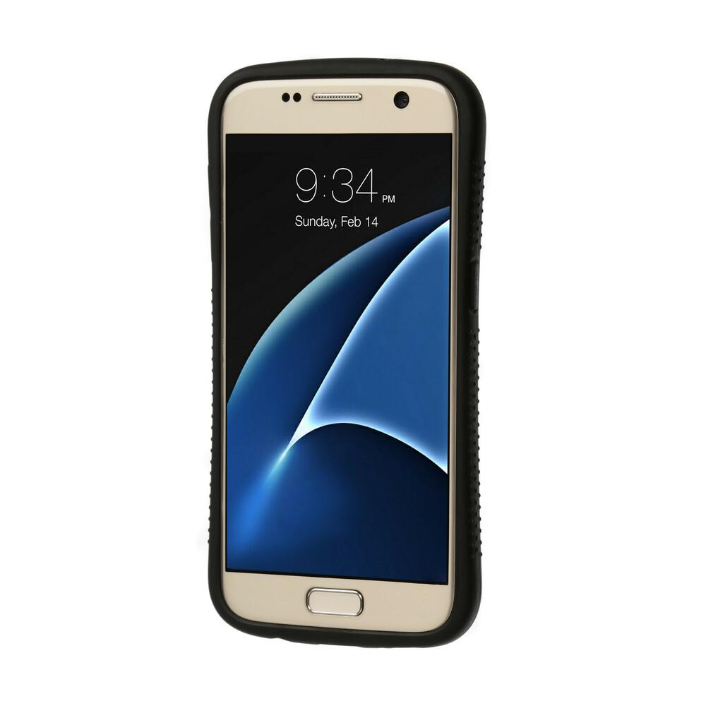 Impact armour cover massima protezione - Samsung Galaxy S7 - Wood Camo