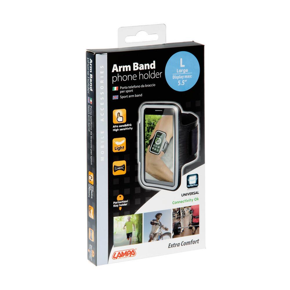 Arm Band, portatelefono da braccio per sport - L - max 5,5