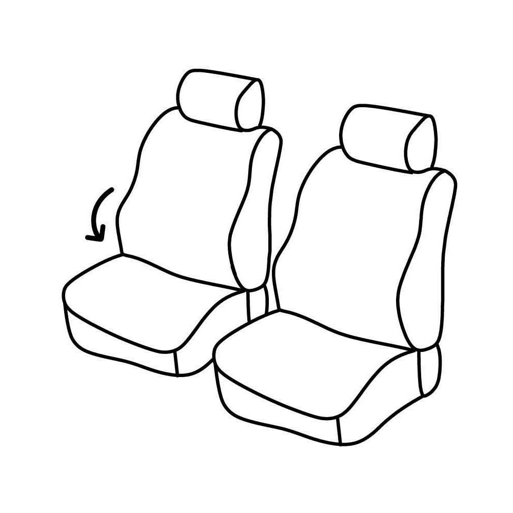 Set coprisedili Superior - Beige - Citroen Berlingo (van) (04/08>)