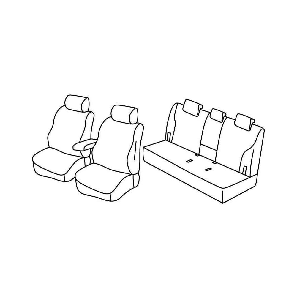 Set coprisedili Superior - Beige - Subaru Outback (09/09>02/15)