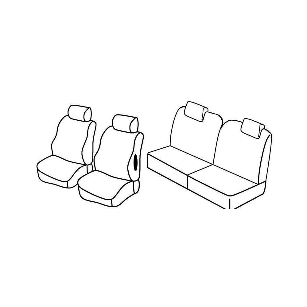 Set coprisedili Superior - Beige - Citroen C2 (Furio, VTS) (10/03>03/10)
