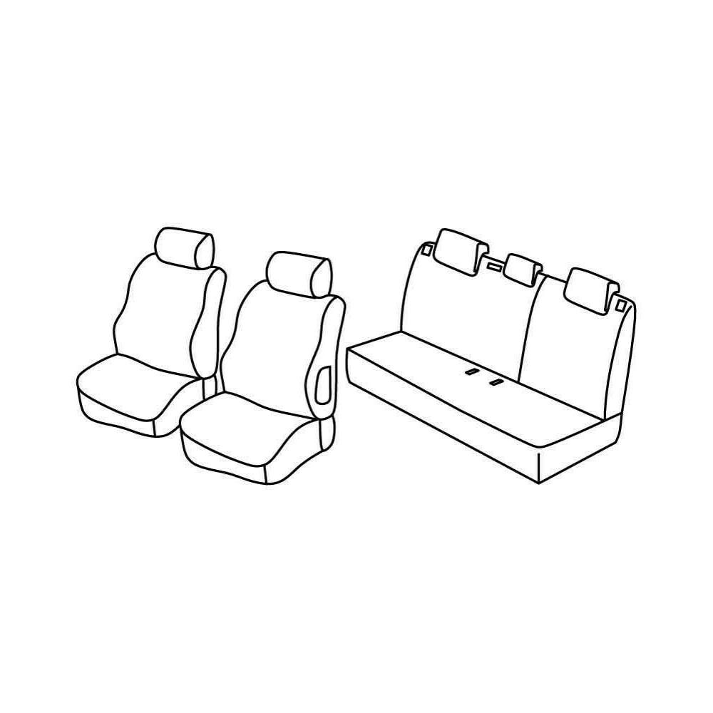 Set coprisedili Superior - Beige - Citroen C3 (05/02>08/05)
