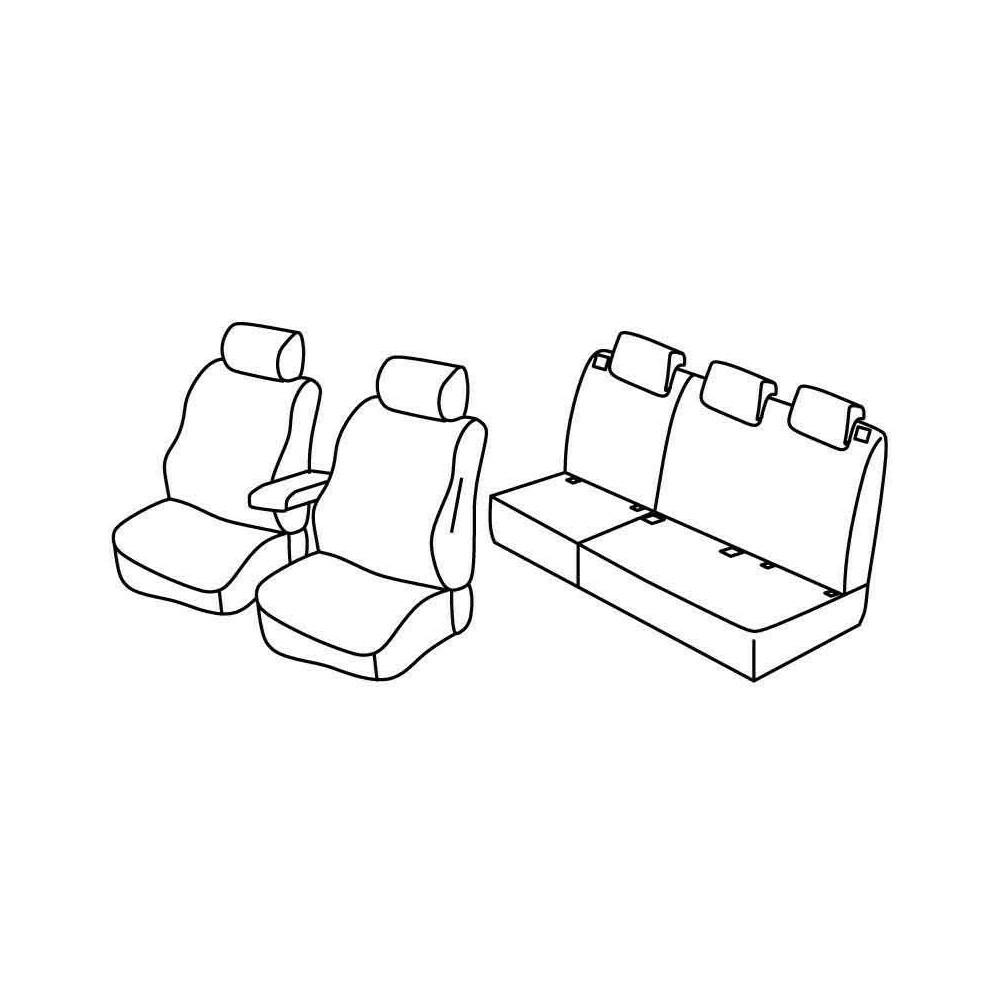 Set coprisedili Superior - Beige - Citroen C3 Picasso (Exclusive) (01/09>10/12)