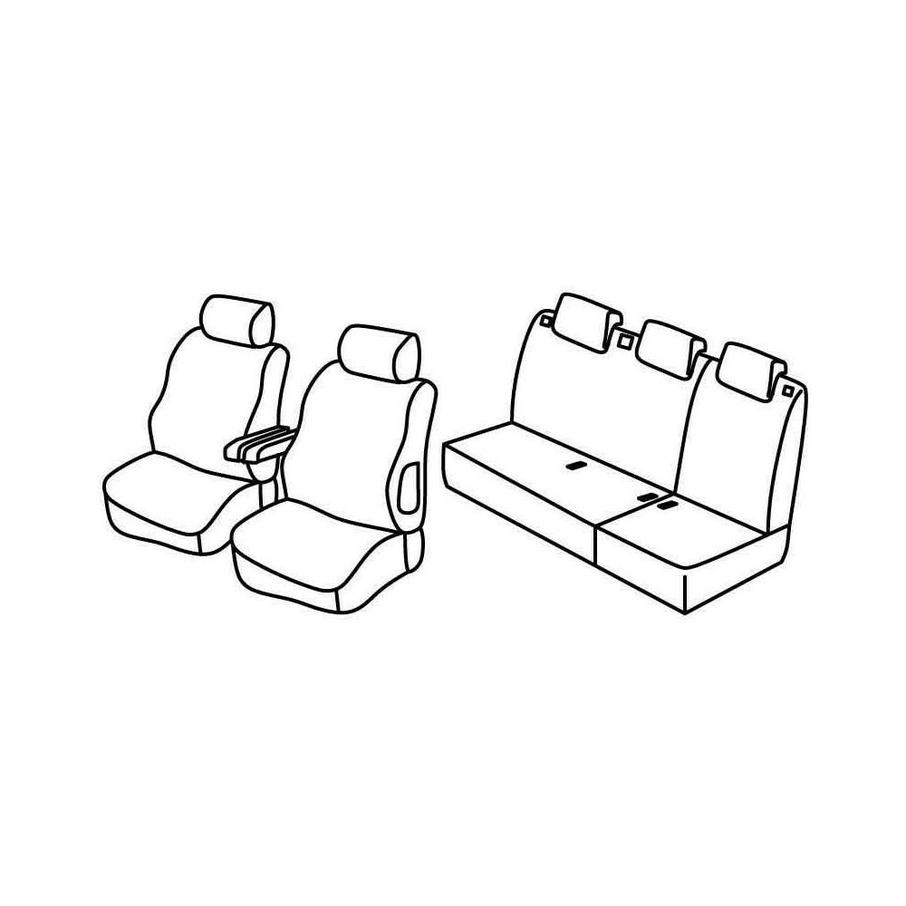 Set coprisedili Superior - Beige - Citroen Berlingo Multispace 5p (11/02>03/08)