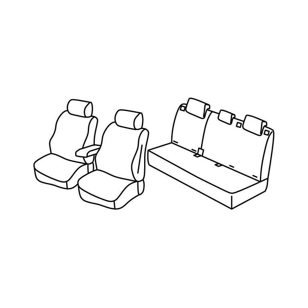 Set coprisedili Superior - Beige - Citroen C4 5p (11/10>)
