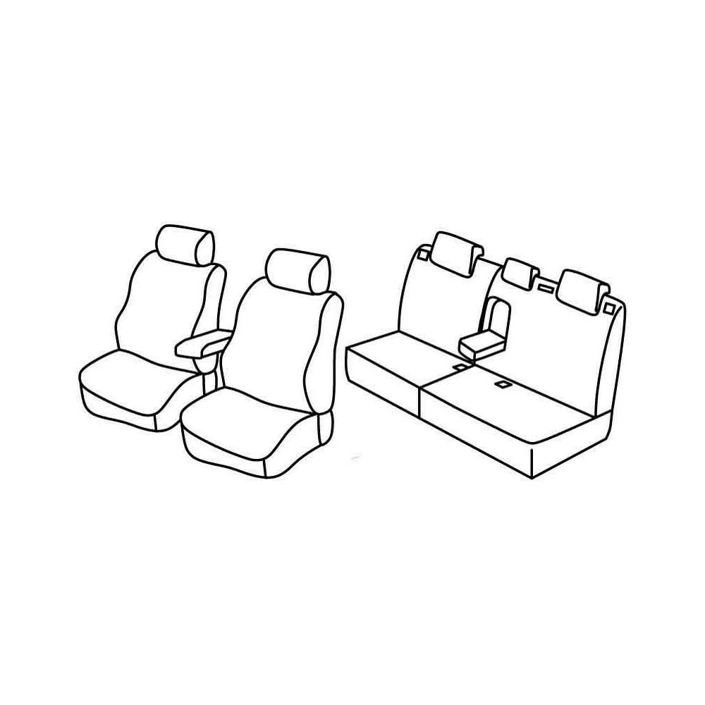 Set coprisedili Superior - Beige - Citroen C4 5p (01/05>10/10)