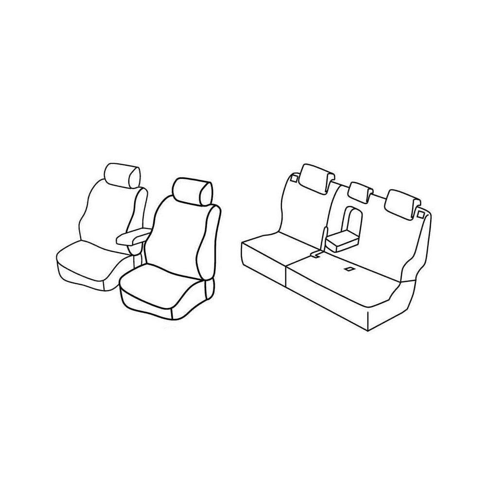 Set coprisedili Superior - Beige - Hyundai ix20 (11/10>)