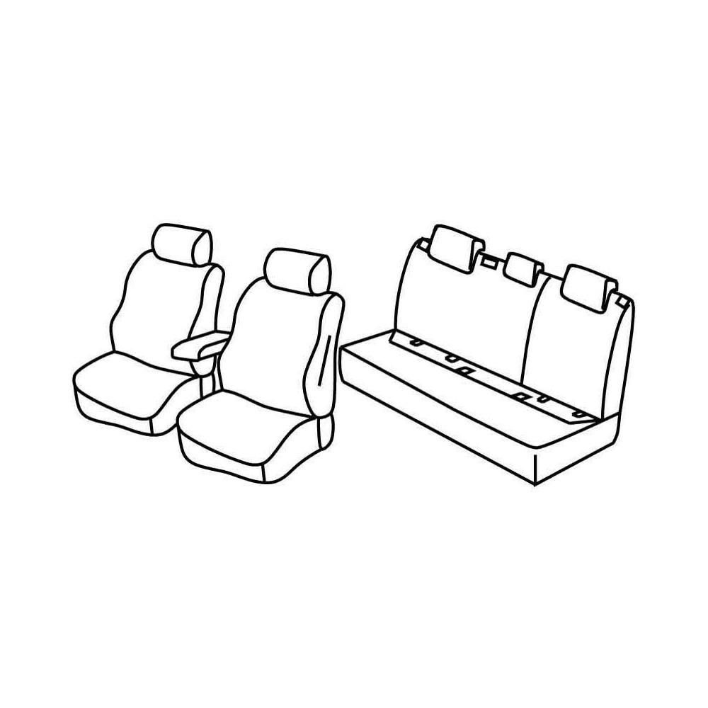 Set coprisedili Superior - Beige - Audi A3 Sportback 5p (11/12>07/16)