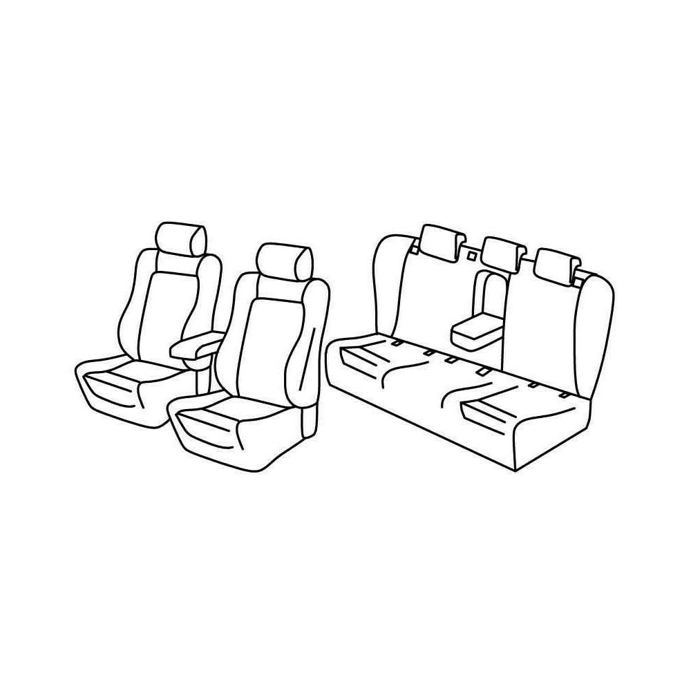 Set coprisedili Superior - Beige - Audi A4 4p (11/07>10/15)