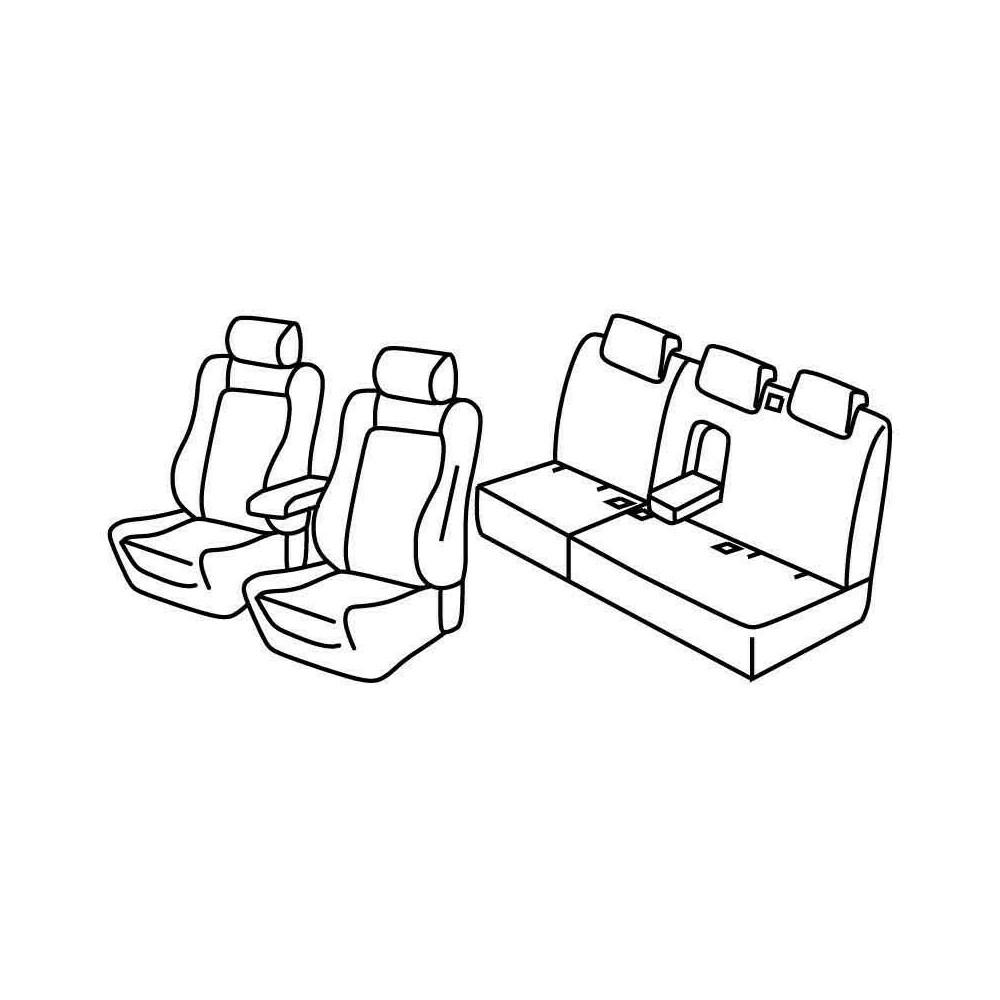 Set coprisedili Superior - Beige - Audi Q5 (09/12>02/17)