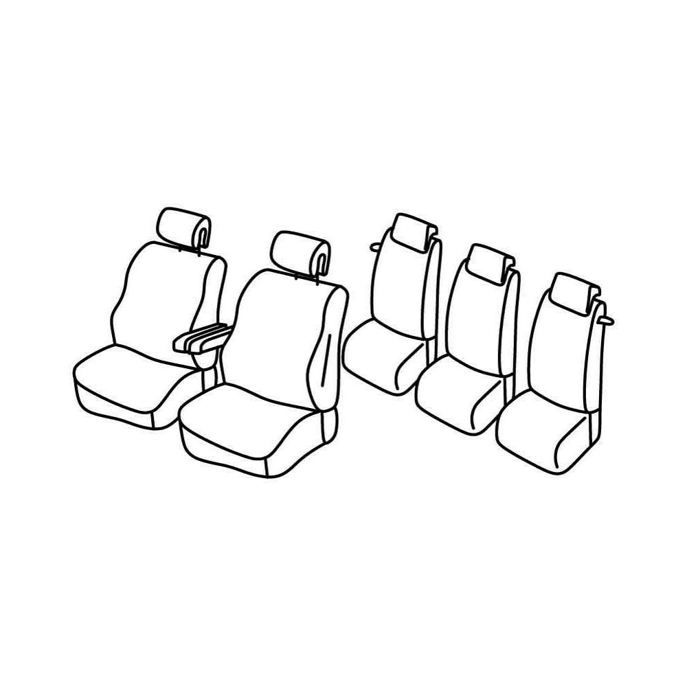 Set coprisedili Superior - Beige - Citroen C4 Picasso (03/07>05/13)