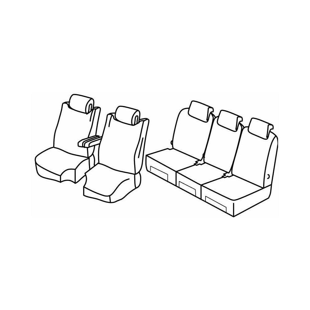Set coprisedili Superior - Beige - Citroen C4 Picasso (06/13>)