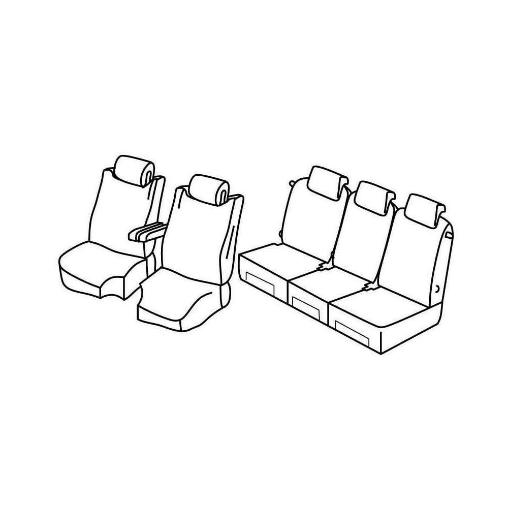 Set coprisedili Superior - Beige - Citroen C4 Grand Picasso (10/13>)