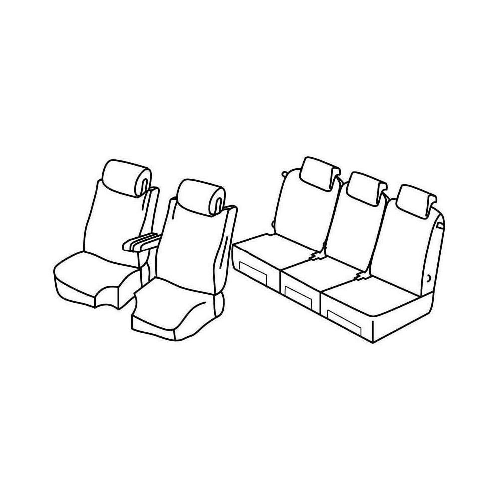 Set coprisedili Superior - Beige - Citroen C4 Grand Picasso (Exclusive) (10/13>)