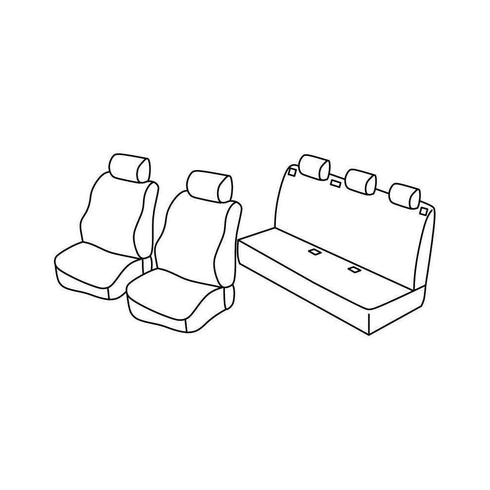 Set coprisedili Superior - Beige - Citroen Berlingo Multispace 5p (04/08>)