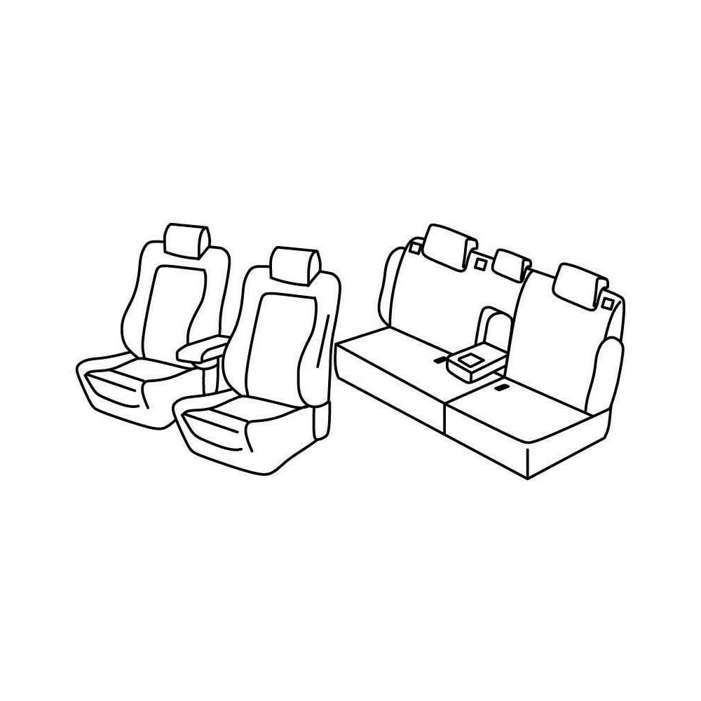 Set coprisedili Superior - Beige - Citroen C5 4p (05/08>)