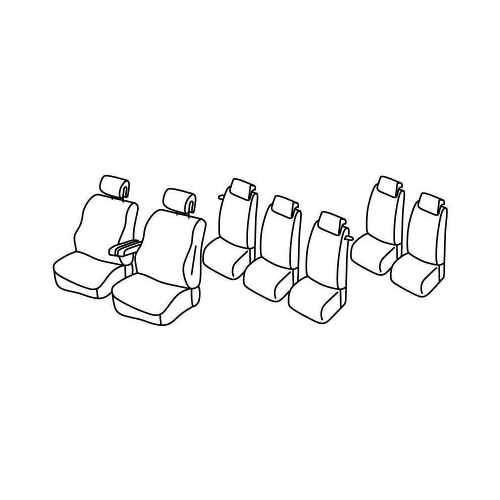 Set coprisedili Superior - Beige - Citroen C4 Grand Picasso (10/06>09/13)