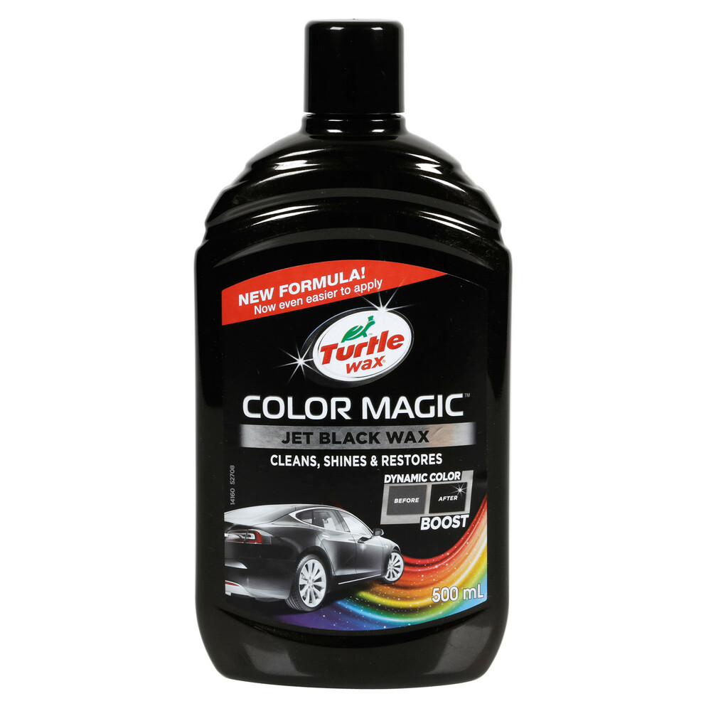Color Magic, cera protettiva arricchita con colore - 500 ml - Nero