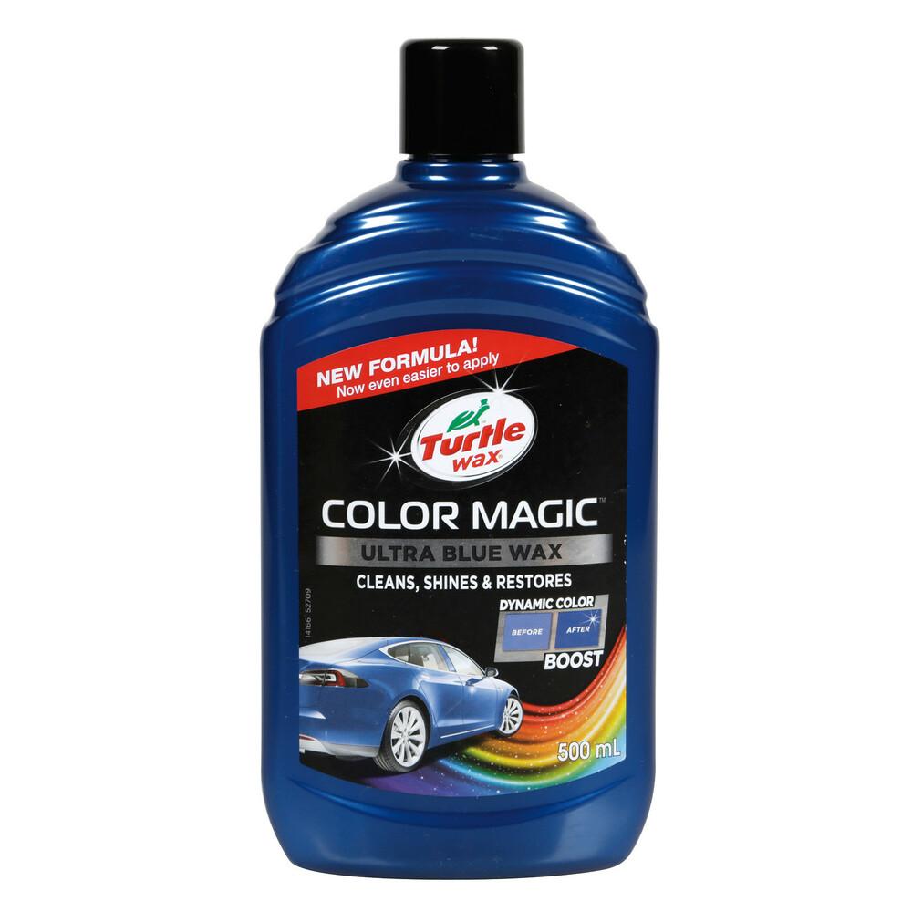Color Magic, cera protettiva arricchita con colore - 500 ml - Blu