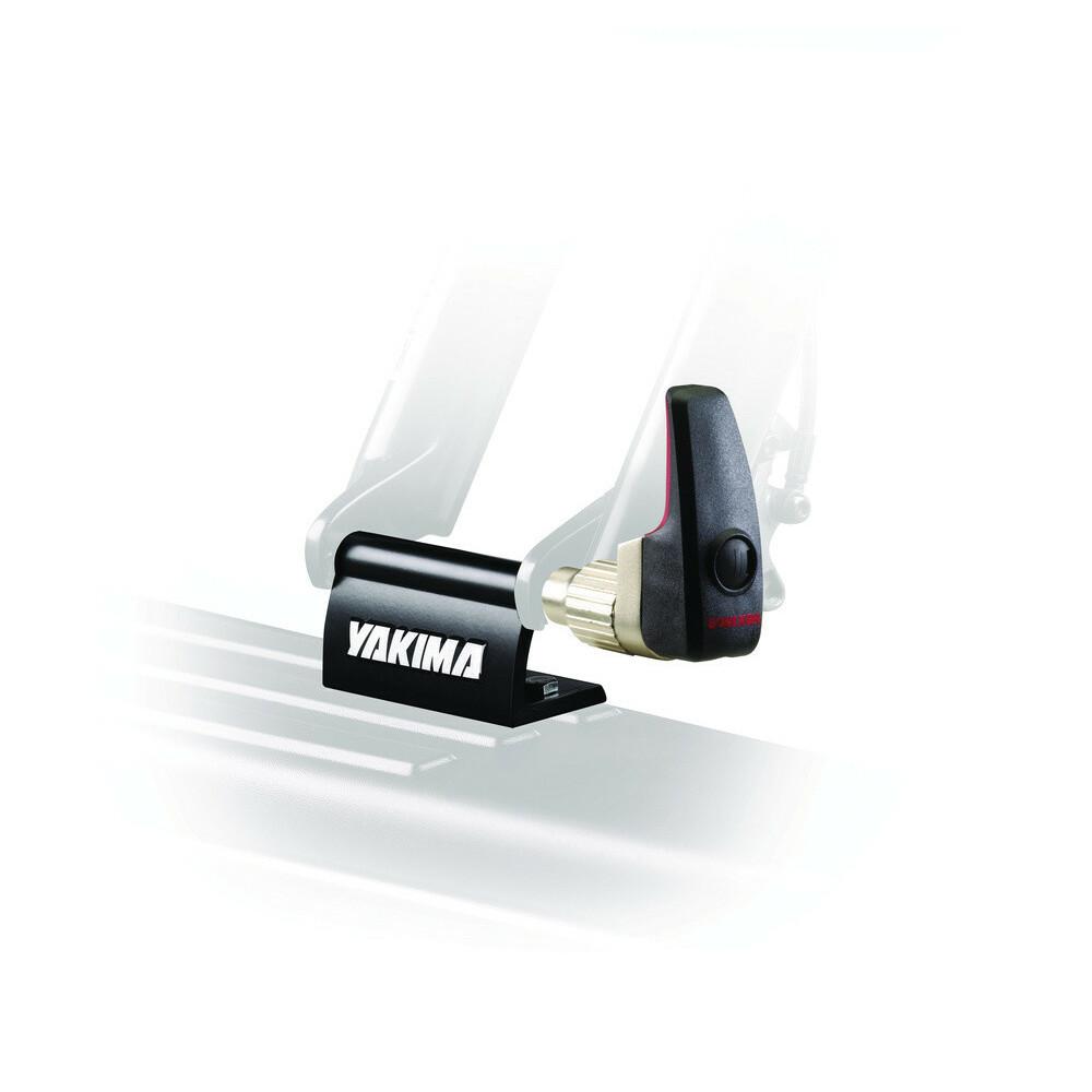 Locking Blockhead, staffa fissaggio ciclo a forcella con serratura
