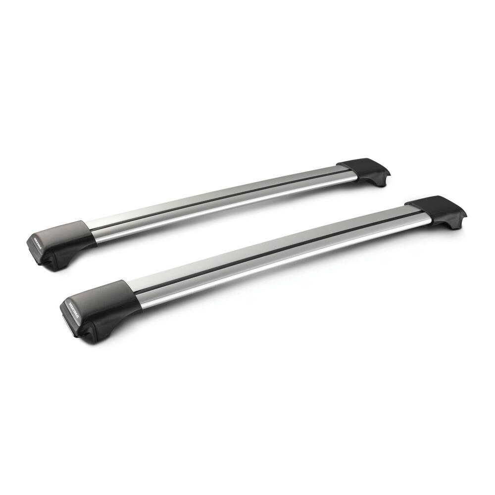 Rail, pair of telescopic aluminium roof bars - 73 cm