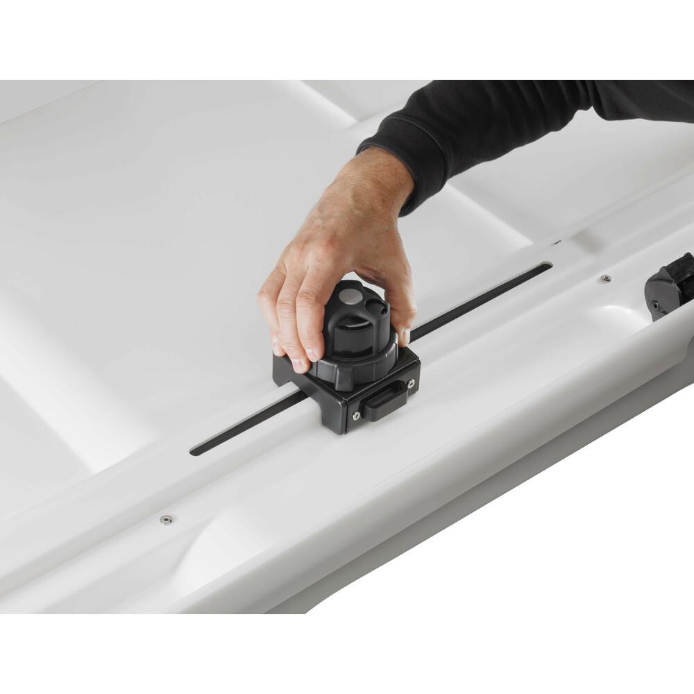 Box tetto compatto - Bianco lucido