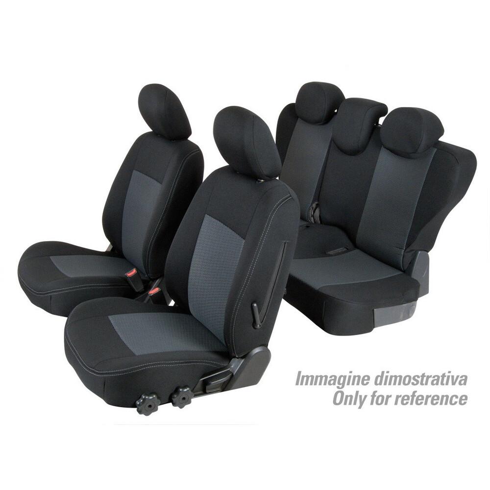 Set coprisedili Superior - Nero/Grigio - Dacia Duster (05/10>05/12)