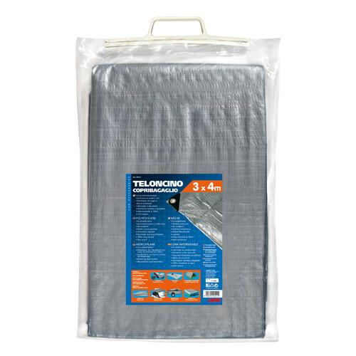 Polyethylene tarpaulin - 3x4 m 1